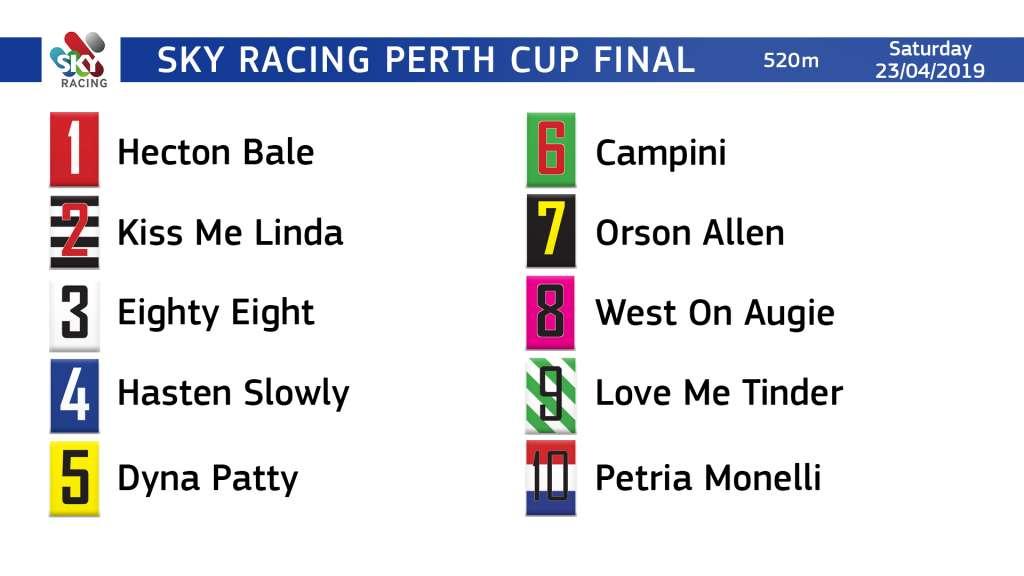 20190318 Perth Cup Draw